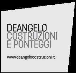 De Angelo Costruzioni e Ponteggi logo